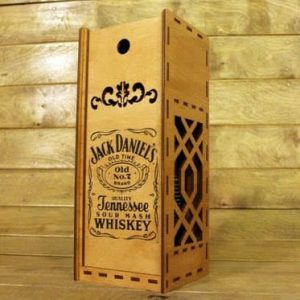 Big Jack Daniels Whiskey Box