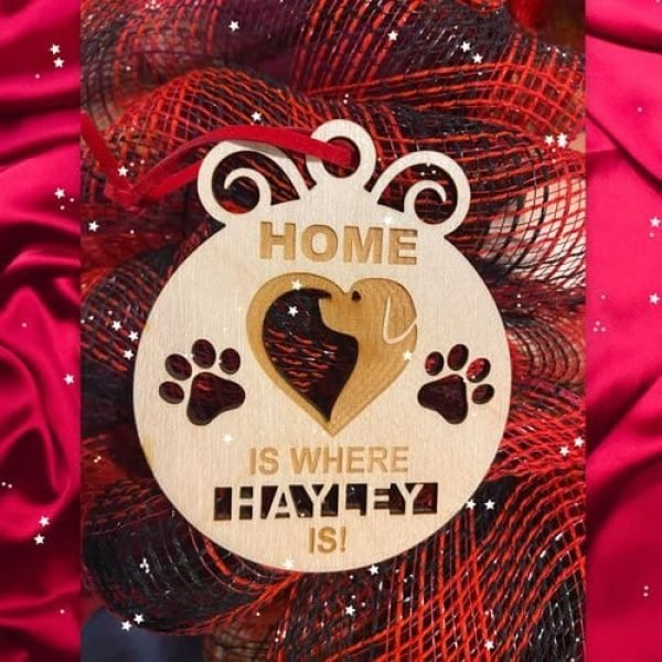 Home is Where the Dog is Ornament