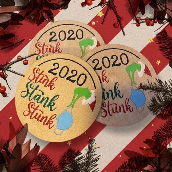 Stink Stank Stunk Ornament