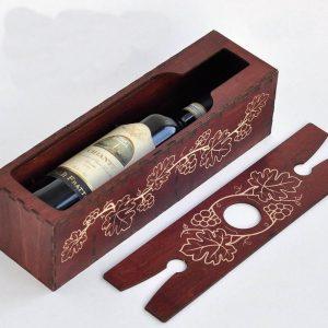 Wine Box & Sliding Lid Butler