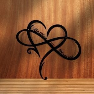 Infinity Heart Personalized