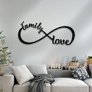 Family Love Infinity Sign