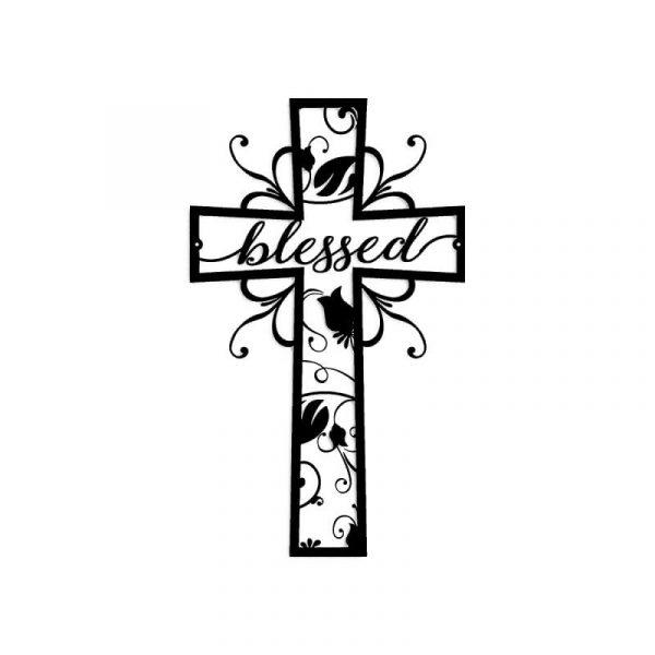 Blessed Cross Wall Art