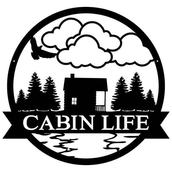 Cabin Life Wall Sign