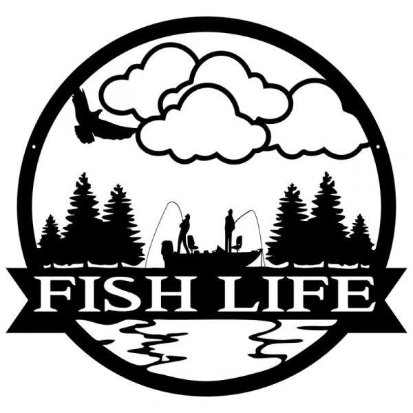 Fish Life Wall Art