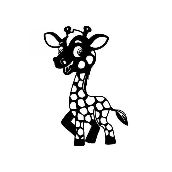 Funky Giraffe Wall Art