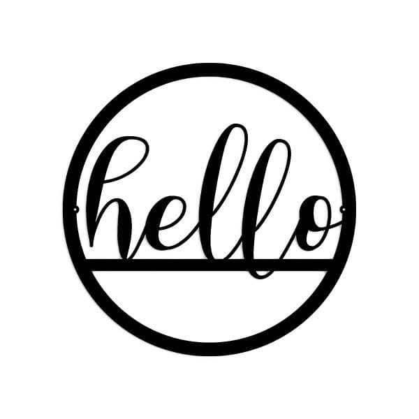 Hello Word Sign