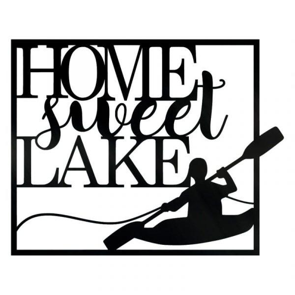 Home Sweet Lake Wall Art