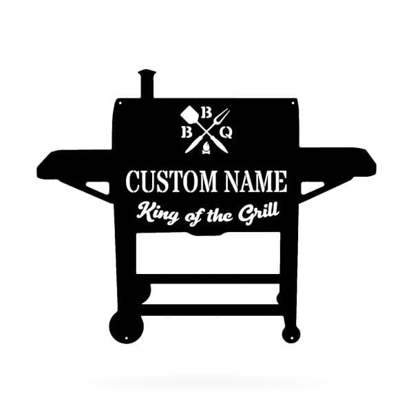 BBQ Name Sign