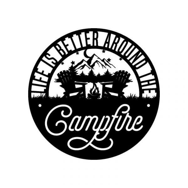 Campfire Life Wall Art