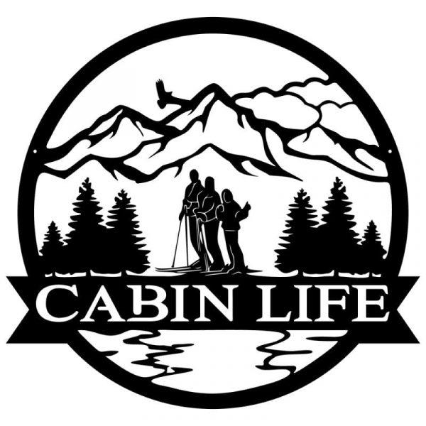 Cabin Life Wall Art