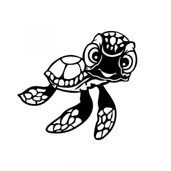 Funky Turtle Wall Art