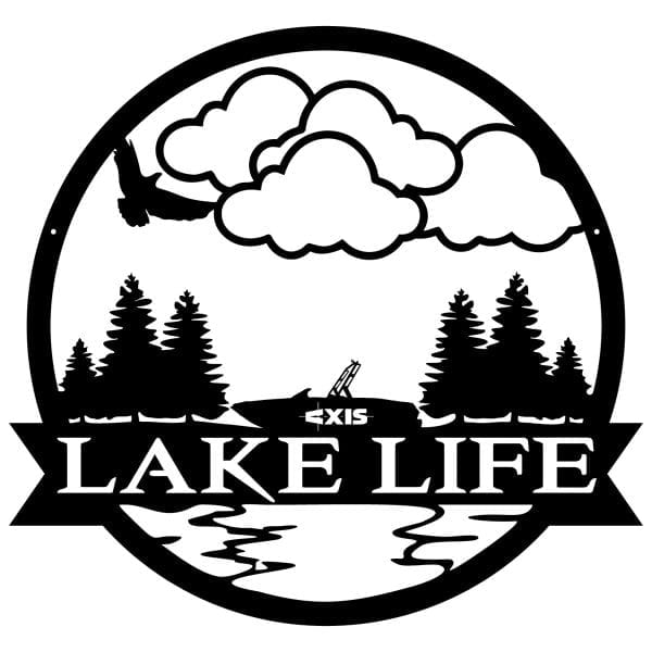 Lake Life Wall Art