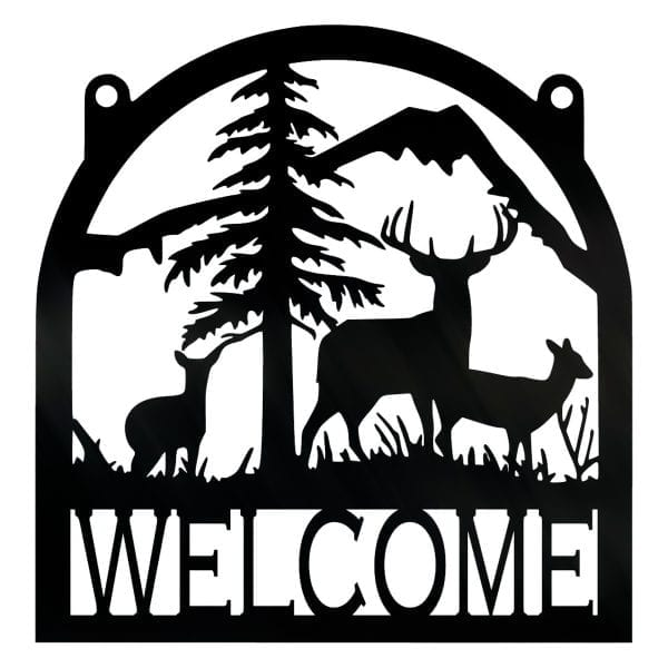 Wilderness Welcome Sign
