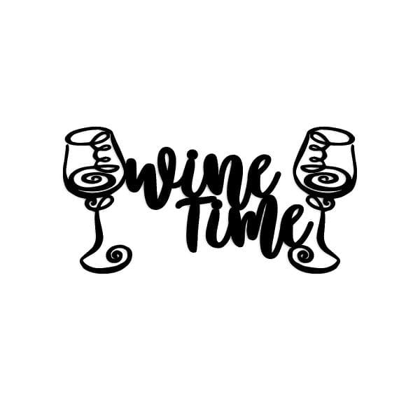 Wine Time Wall Art